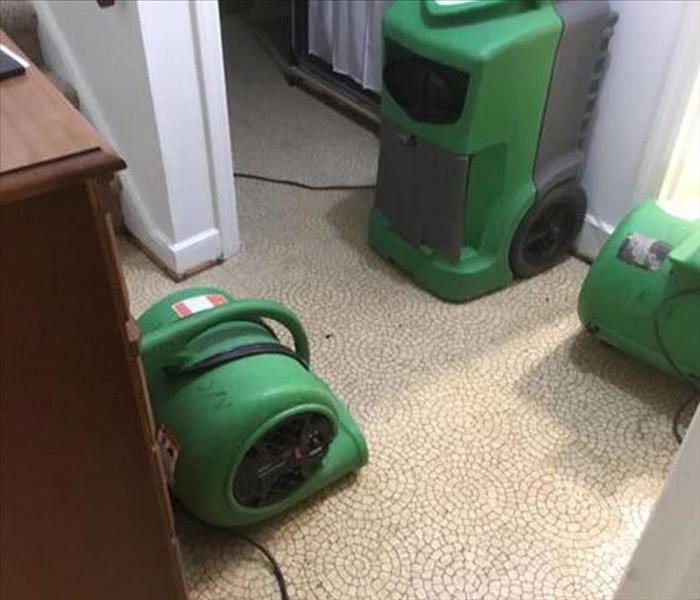 Water Damage Flooding in Home