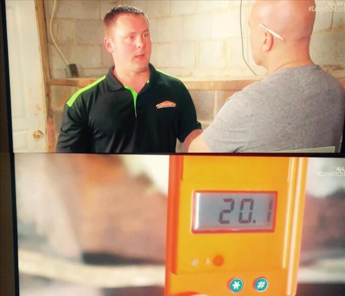 General SERVPRO of Greensboro North on HGTV's Love it or List it